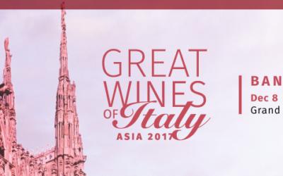 Mario Bollag at Great Wines of Italy James Suckling tasting in Bangkok Dec 8th