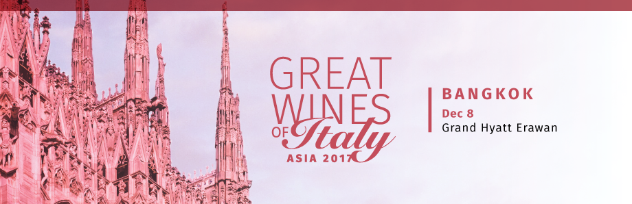 Great Wines of Italy Bangkok